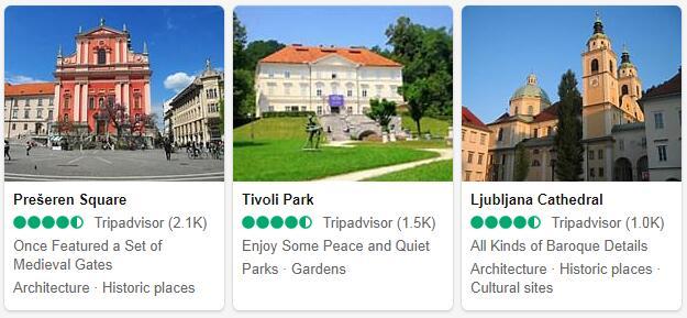 Ljubljana Attractions 2