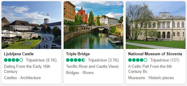 Ljubljana Attractions