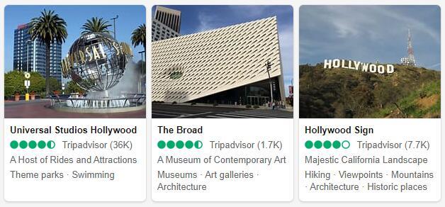 Los Angeles Attractions 2