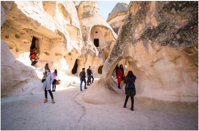 impressive landscapes of Cappadocia