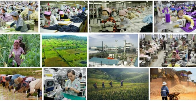 Cambodia Processing industry