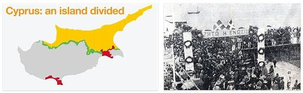 Cyprus History - From the Civil War to the Division of The Island