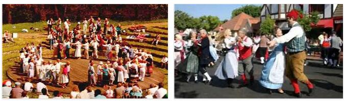 Denmark Music and Dance